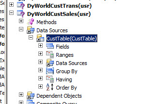 Exploring Drill-down SSRS Reports in Dynamics Ax 2012 R3.