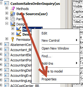 How to create a custom filter on list or inquiry form in Dynamics AX 2012