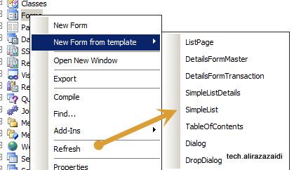 Form Development from scratch Dynamics Ax 2012 R3 part 2