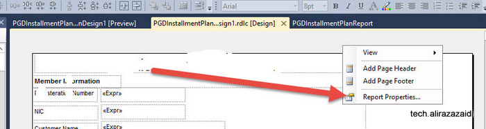 How to handle empty pages in SSRS report dynamics Ax 2012