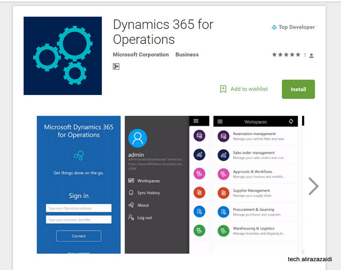 New Android apps for Microsoft Dynamics 365.